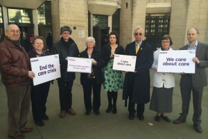 Calling on the Government to protect older people's human rights