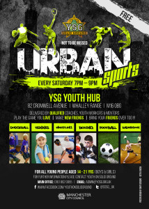 Urban Sports YSG Youth Hub - Whalley Range -Sat